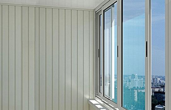 Холодные алюминиевые окна